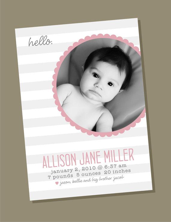 tarjeta bebe