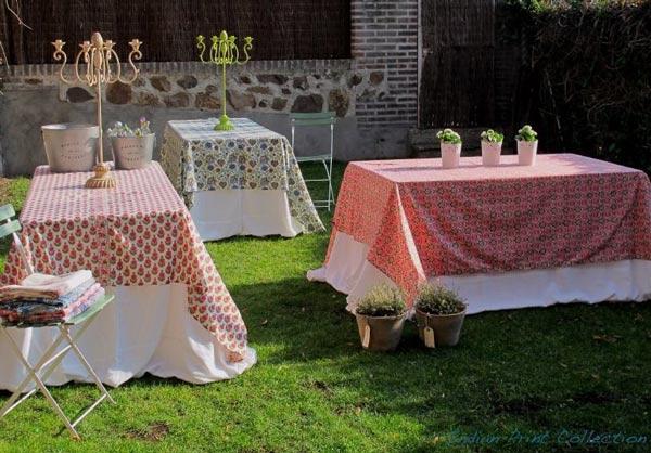 Jardin bautizo y comunion - Manteles originales ...
