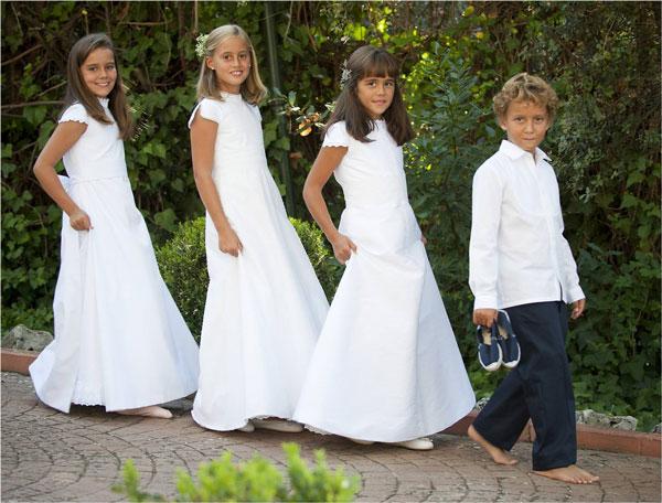 vestidos comunion sencillos y elegantes_TP Kids