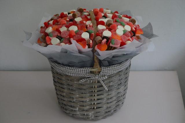 cestas de chucherías