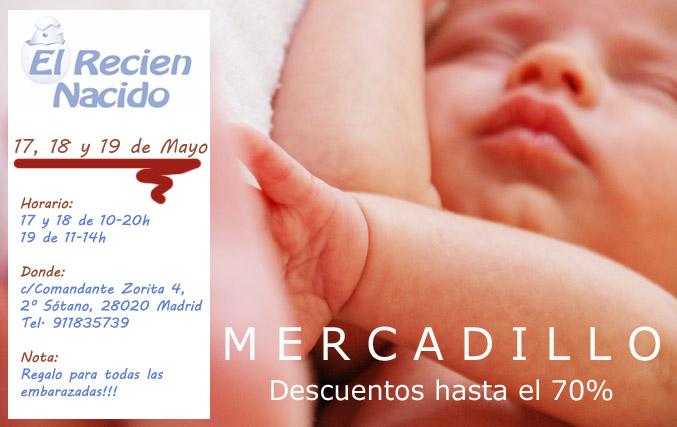 Mercadillo ropa bebe recien nacido. Outlet ,descuentos en Madrid