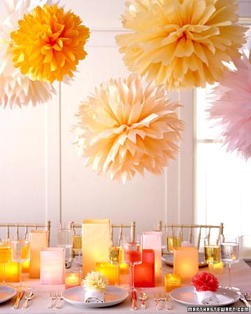 decorar con pom pom