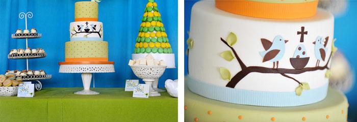 tartas originales para bautizos