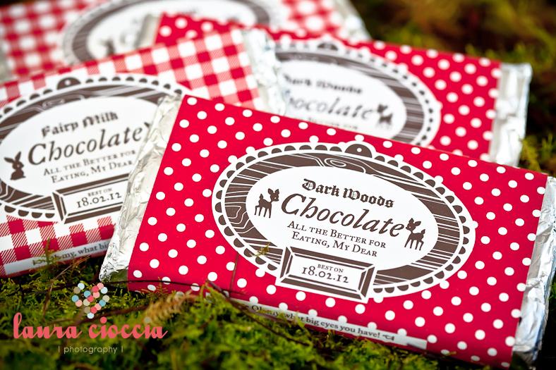 imprimir papel para chocolatinas