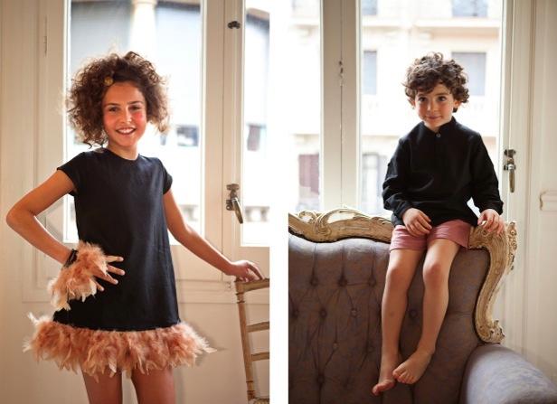 Moda infantil elegante para Bautizo o Comunión