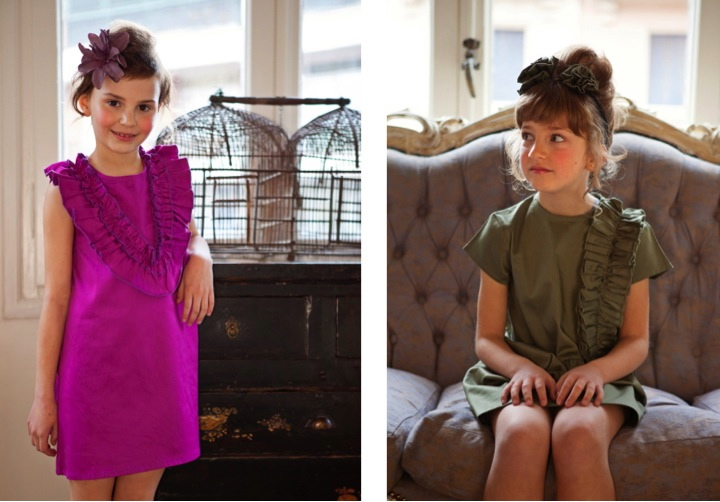 Vestidos niñas elegantes y económicos para Bautizo y Comunión