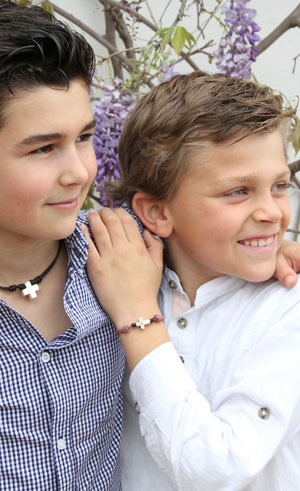 joyas para niños de plata