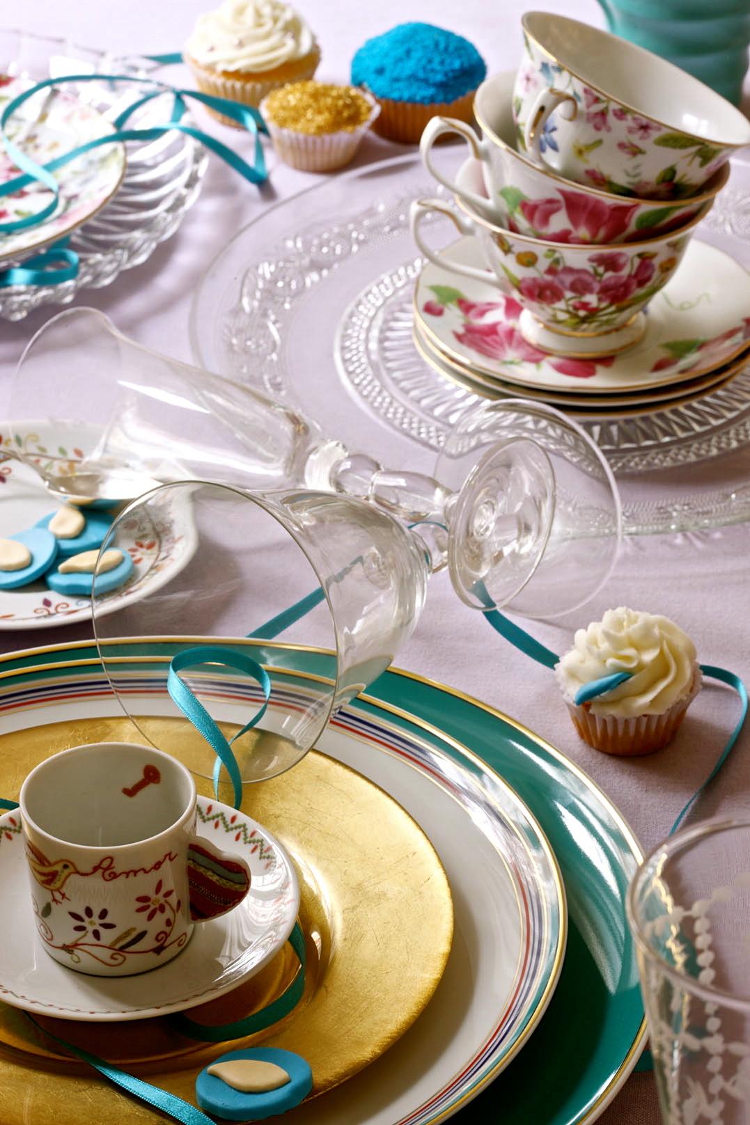 decoración mesas y centros para eventos y fiestas de Bautizo y Comunión