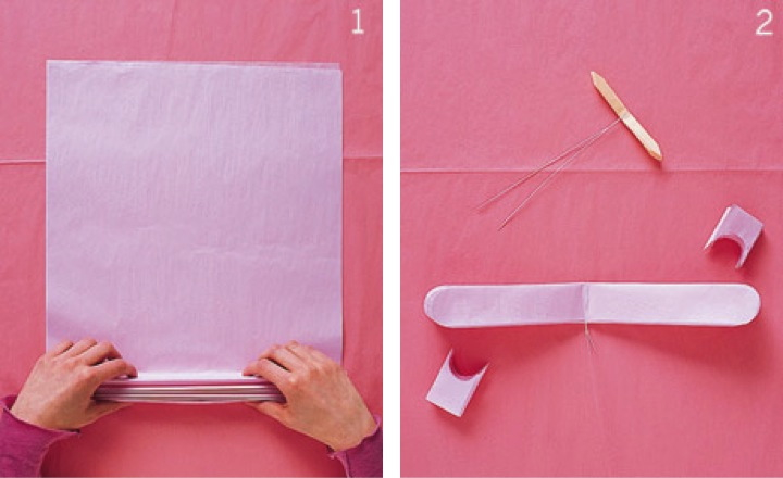 DYS pompons papel seda para decoración infantil fiesta bautizo y Comunión