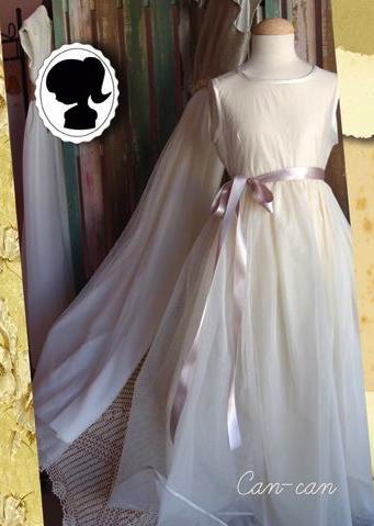 vestidos de comunión estilo romántico vintage clásicos