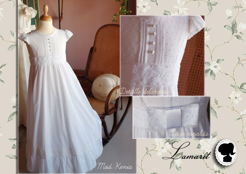 Vestidos de Comunión románticos vintage clásicos