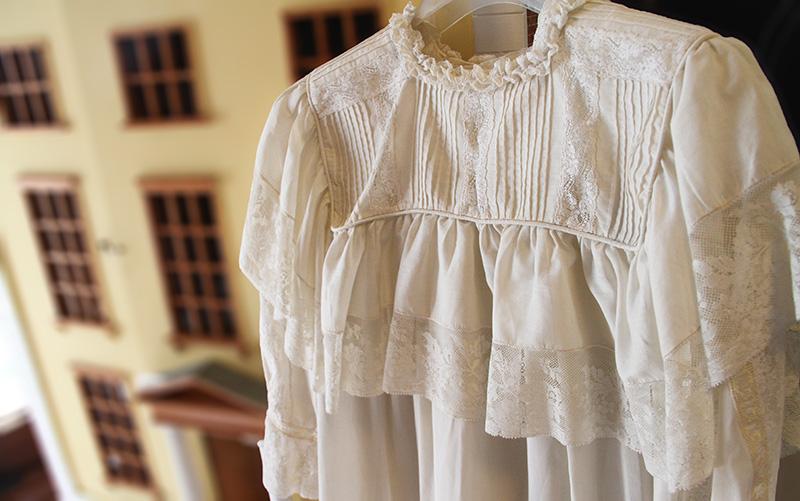 vestido retro de comunion
