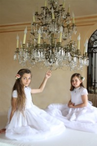 vestidos de comunion clasicos