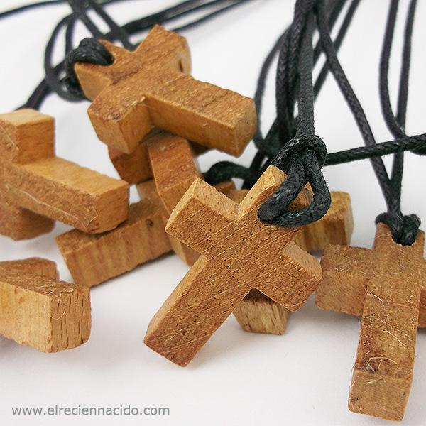 cruz de madera comunion