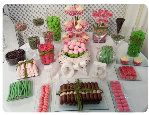 1000 images about mesas dulces on pinterest mesas my - Mesa de chuches para bautizo ...