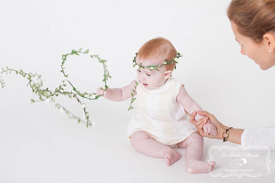 diademas bebé bautizo