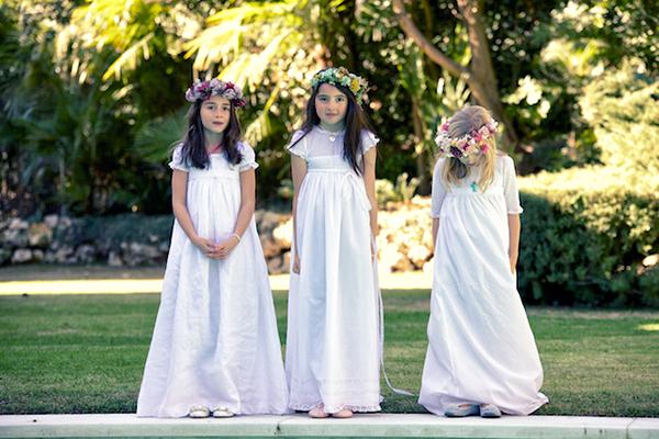 vestidos de comunion sencillos
