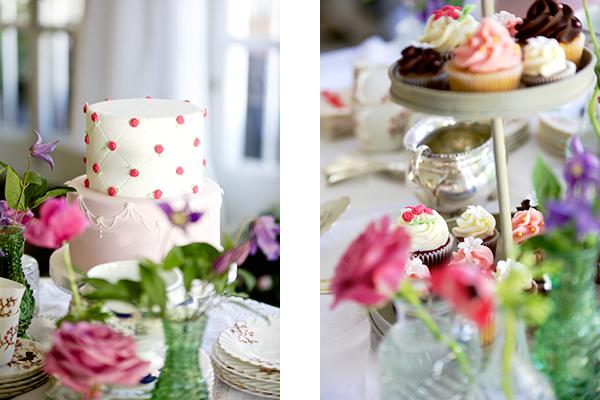 tartas y cupcakes comunion