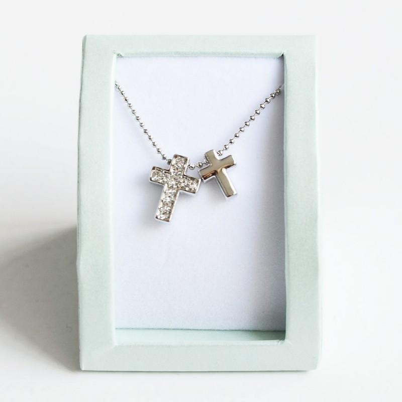 collar-con-dos-cruces-Niñas-Primera Comunión