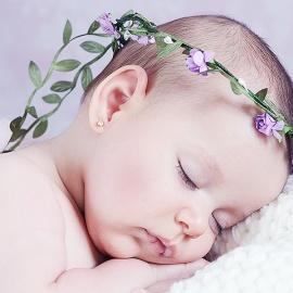 Coronas Tocados Diademas Bebés Atrezzo Bautizos El Recién Nacido
