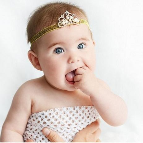 diademas bebés fotografía