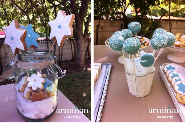 Catering-para-un-bautizo-Cake-pops-galletas-estrellas-Armiñan-Catering