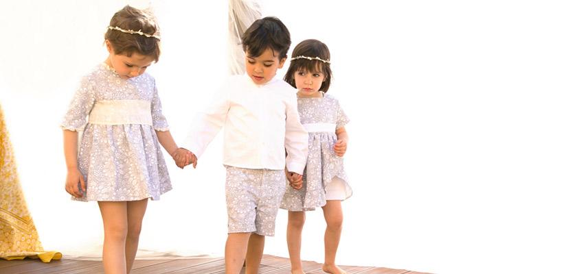 trajes para ceremonias para niños y niñas