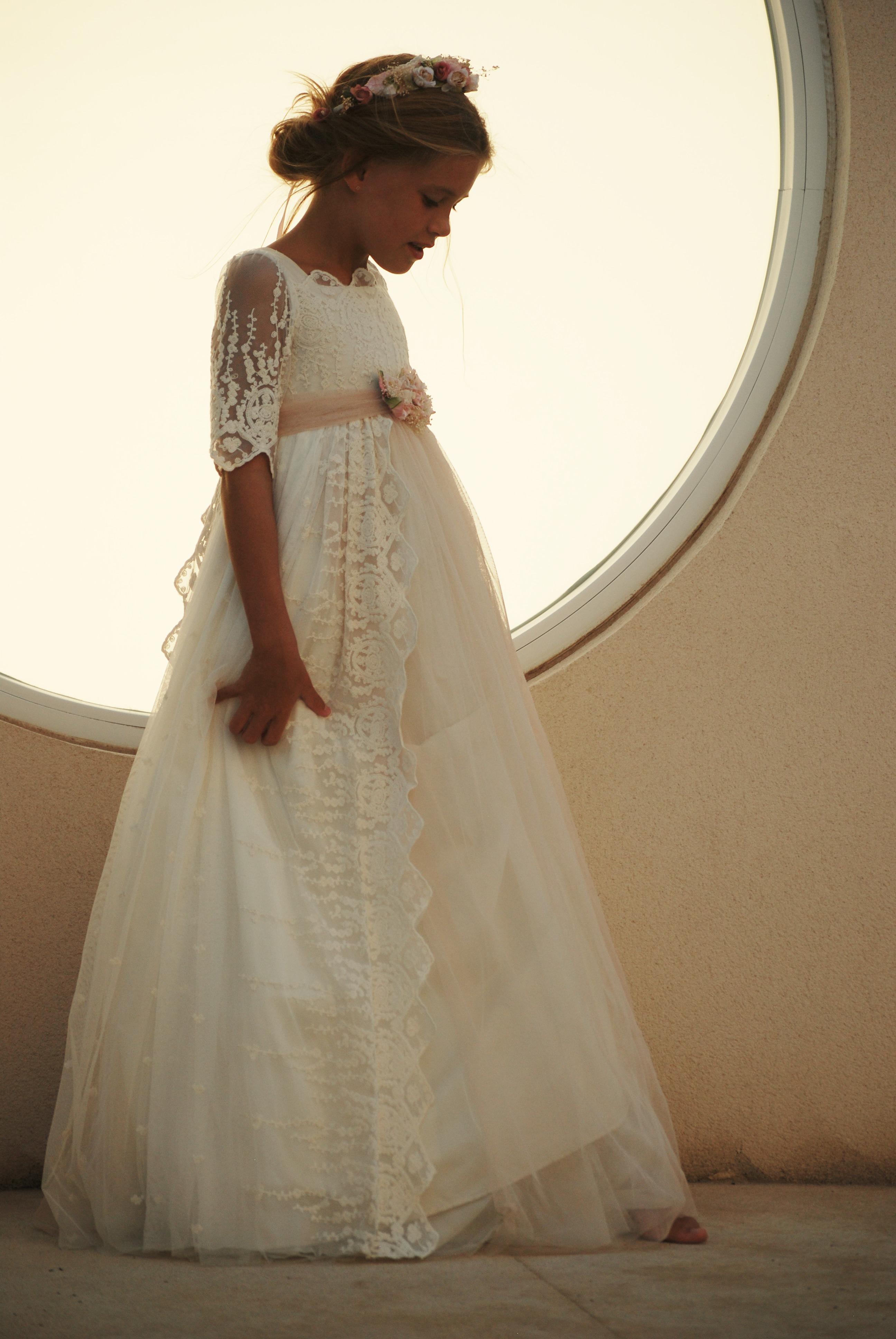 Vestidos de primera comunion estilo vintage