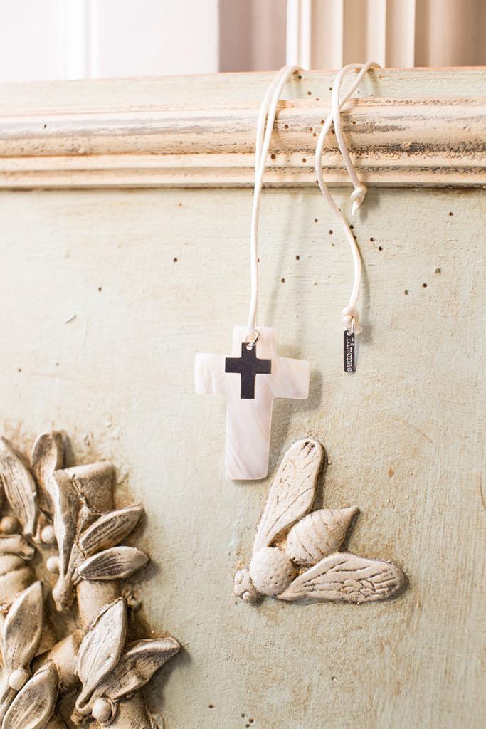 cruz de nácar para comunion