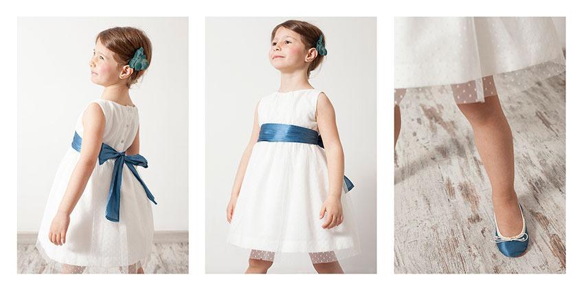 vestidos y zapatos comunión niñas