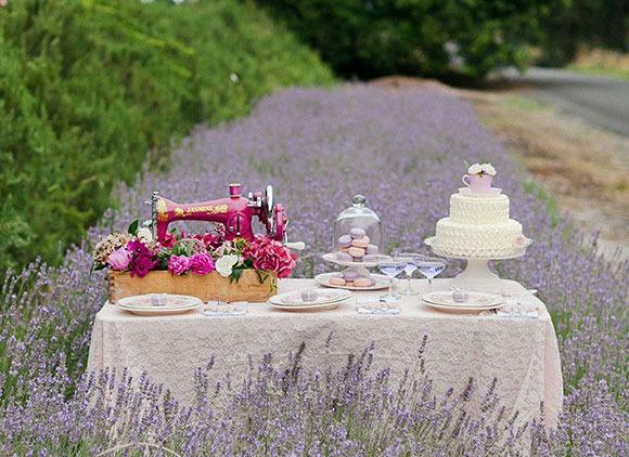 inspiración mesas dulces