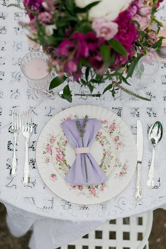 mesas de merienda romanticas