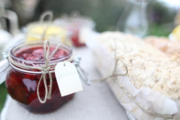 mesas dulces románticas