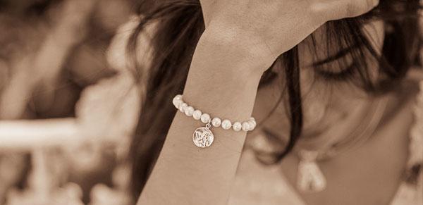 pulsera perlas niña comunión