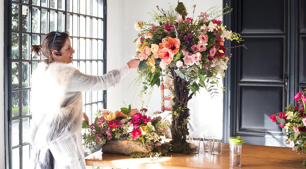 flores para decorar comunión