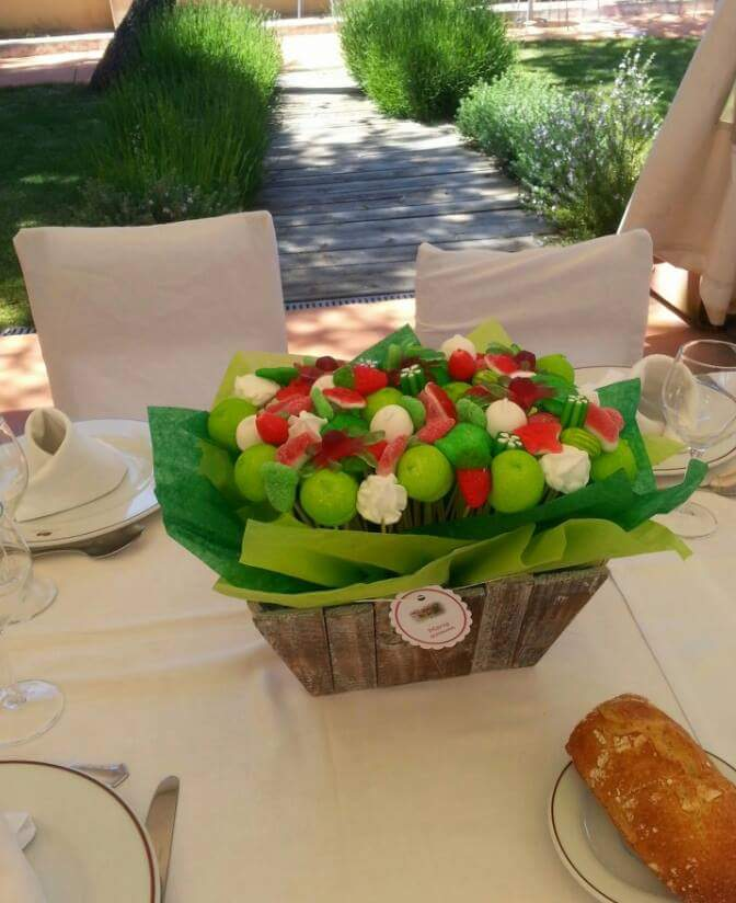 centros mesas dulces