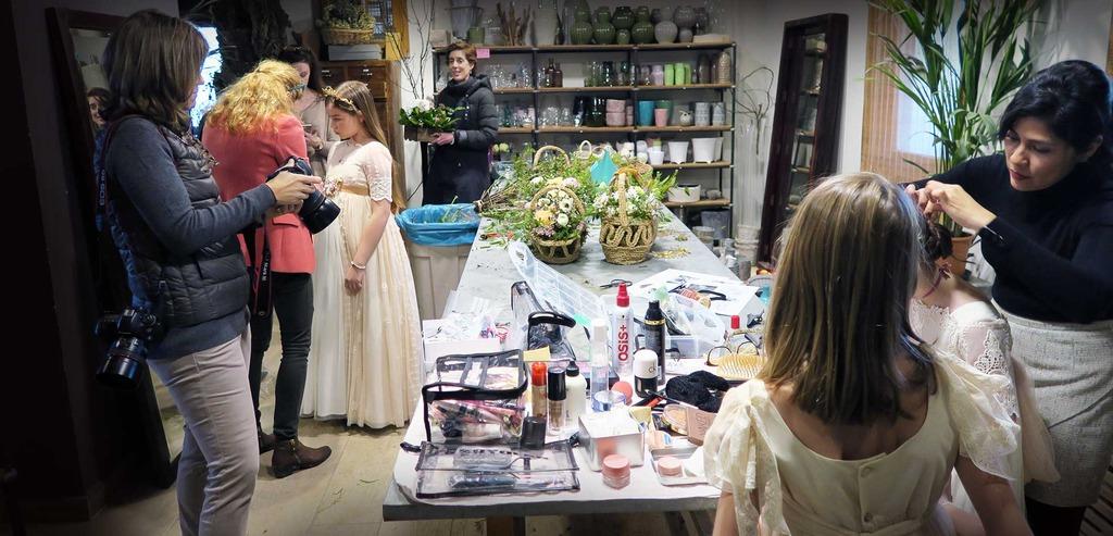 peinados y maquillaje comunión