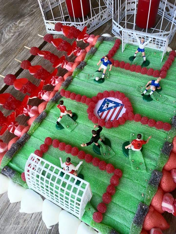 tarta chuches futbol