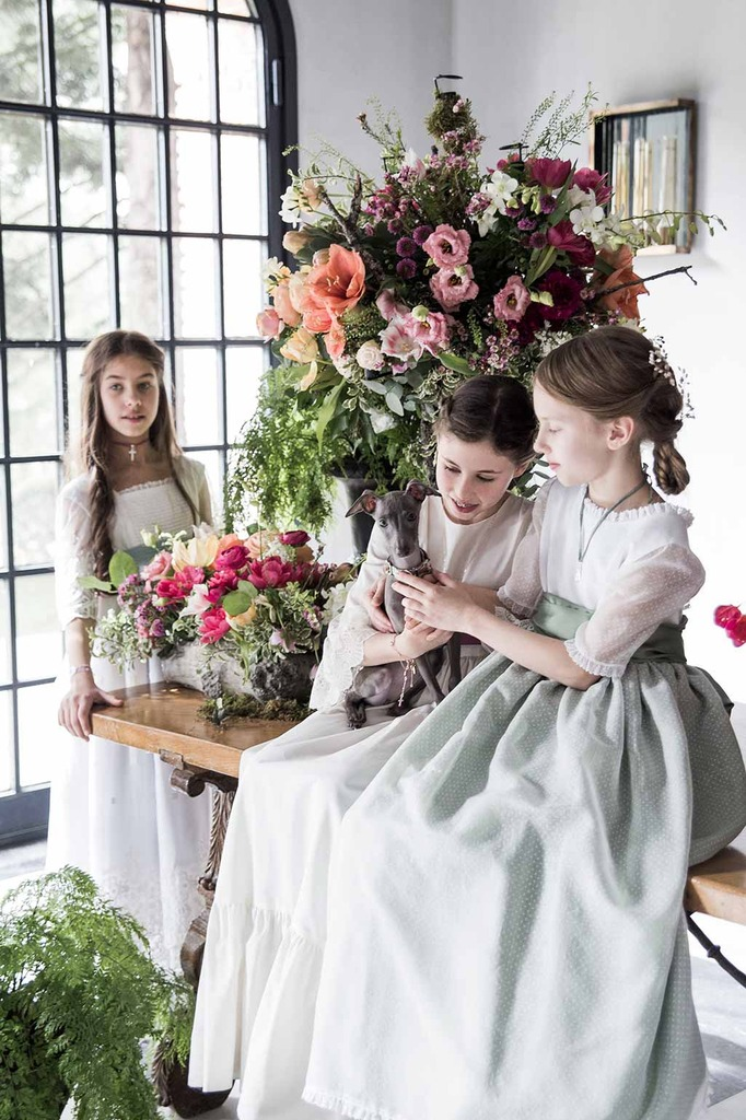 decorar con flores comunión