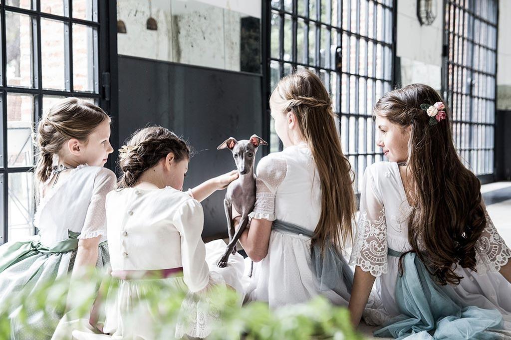 Tocados para niñas para comuniones y fiestas