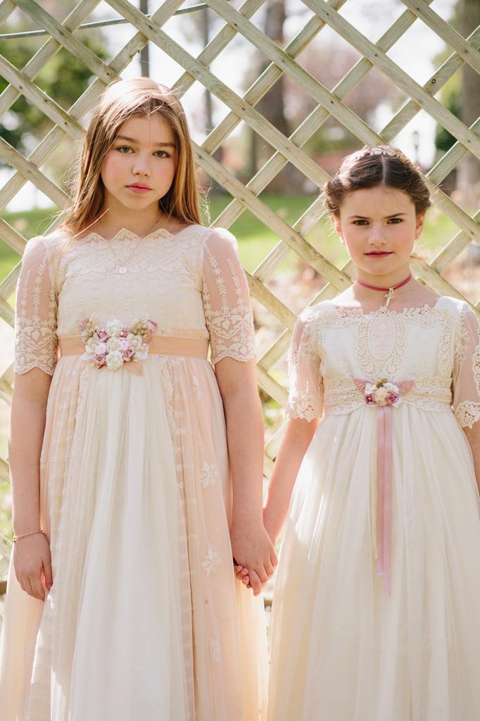 vestidos comunión vintage