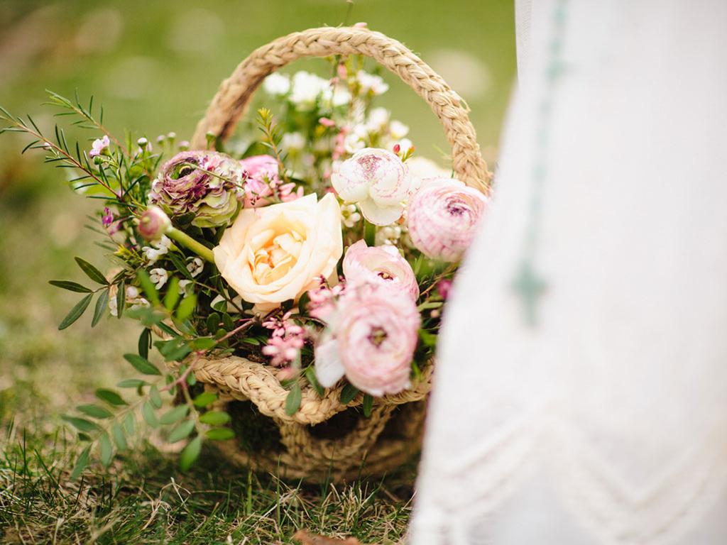 adornos florales comunion
