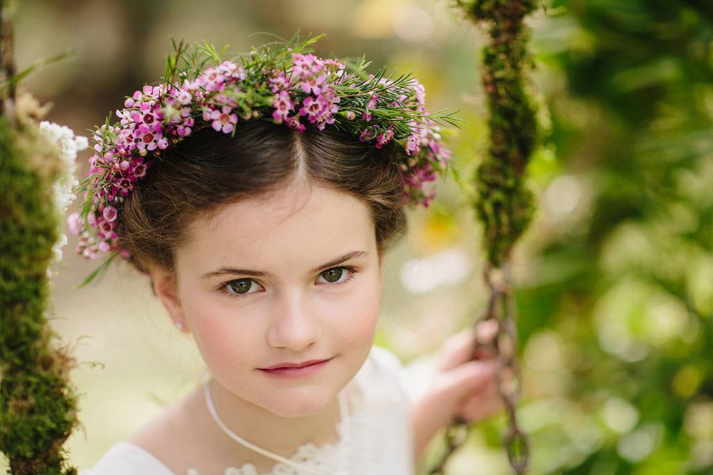 corona flor natural