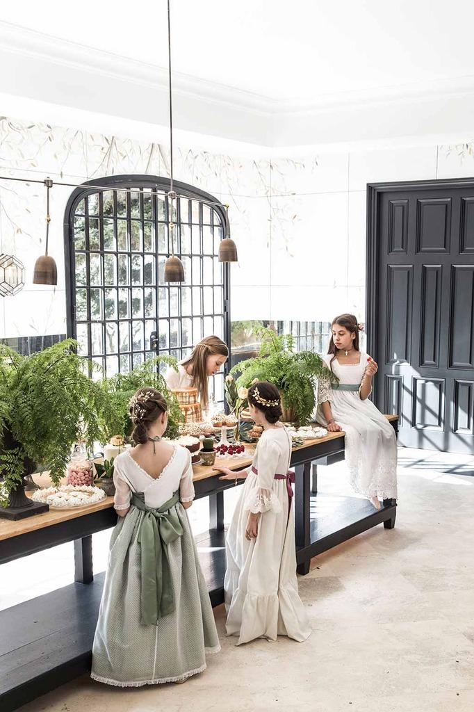 mesa catering comunión