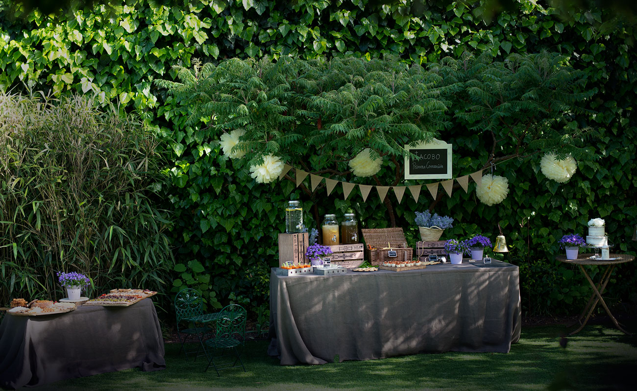 ideas para decorar en jardín una fiesta