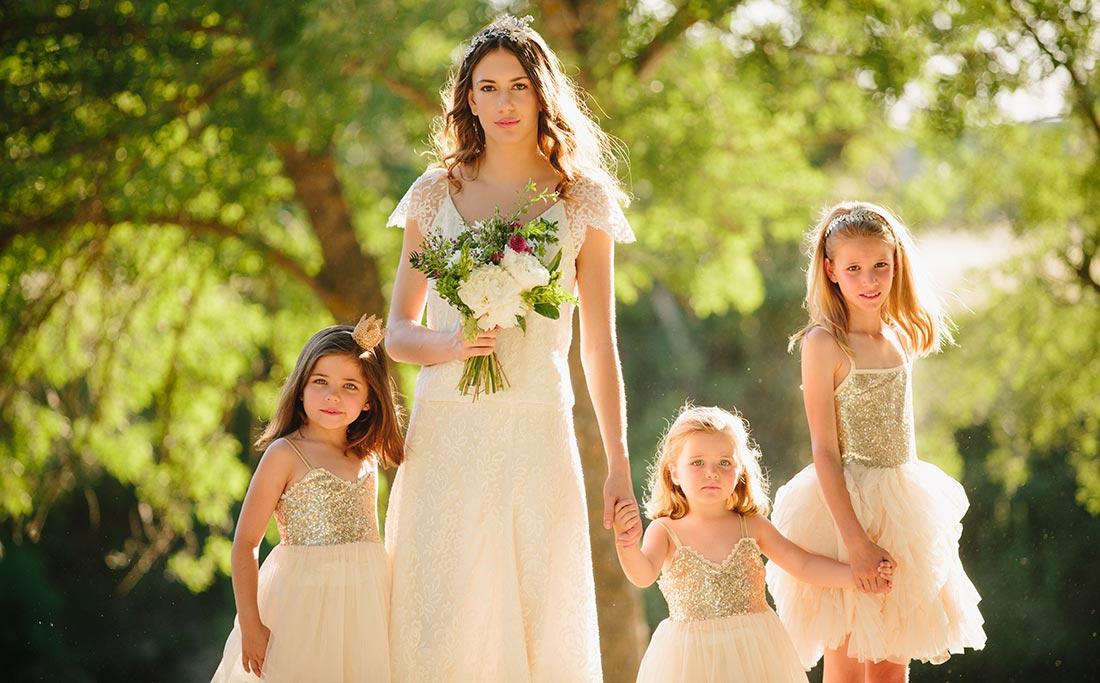 vestidos de ceremonia niñas