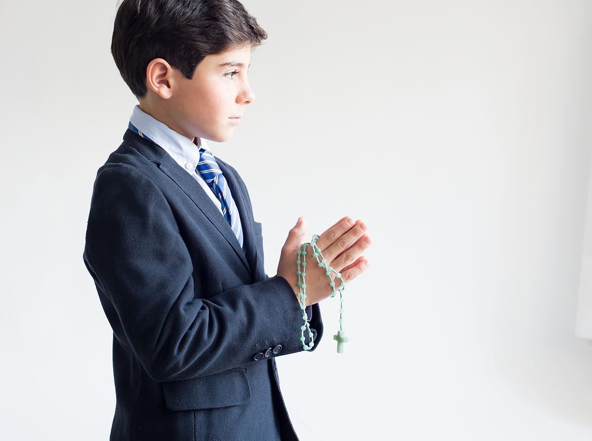 rosario de primera comunión