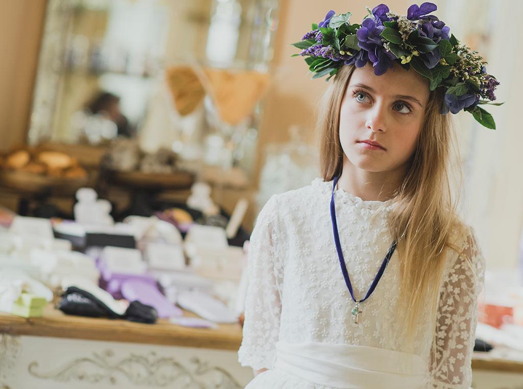 Coronas de flores Patricia Llobera