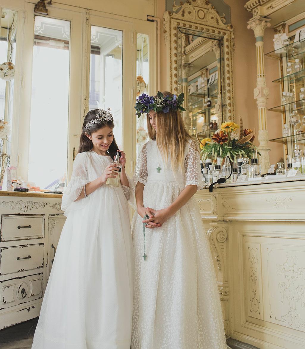 vestidos de comunion pili carrera