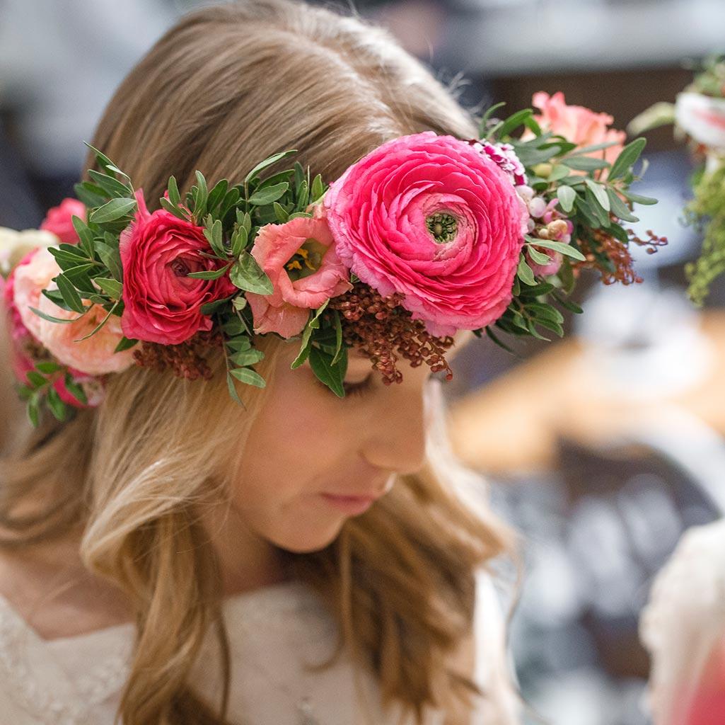 Aquilea Flores decoracion floral y coronas de flores